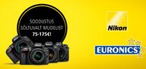 Too meile ükskõik milline vana kaamera ja saad uue Ńikoni kuni 175€ soodsamalt!
