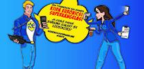 Kiida Euronicsi superkangelasi ja osale uhiuue Samsung Galaxy S9 loosimises!