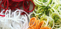 Нарезка овощей спиралями, кружочками или рифленая нарезка в считанные секунды!