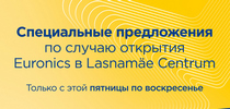 Открываем обновленный Euronics Lasnamäe с большим выбором товаров!