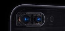 Камера смартфона iPhone 7 Plus поддерживает функцию двукратного  оптического увеличения