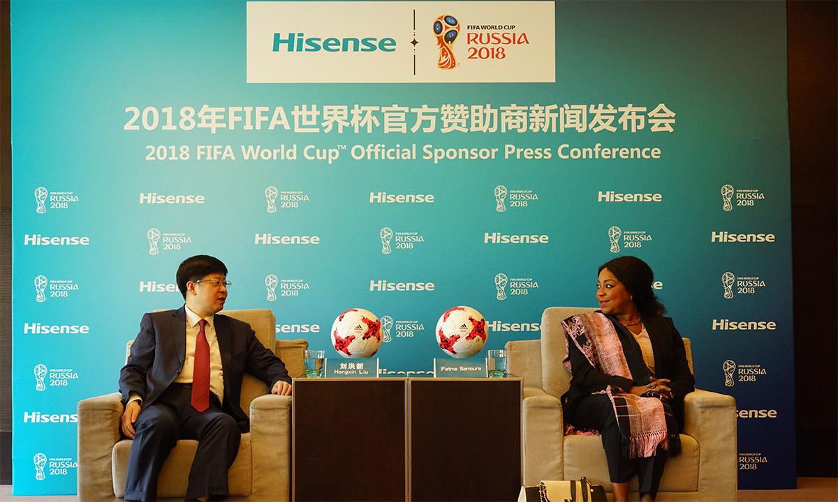 119434b70a6 Hisense on FIFA 2018. aasta jalgpalli maailmameistrivõistluste ametlik  sponsor